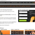 Jamorama Free Lessons Screenshot