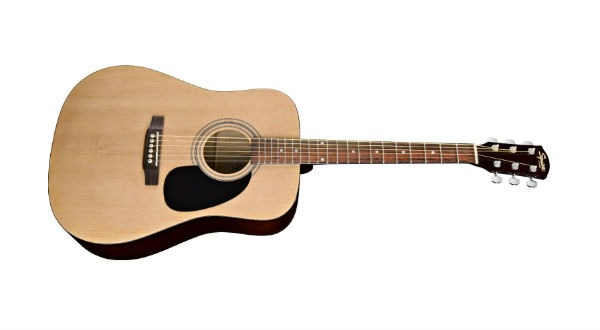 Squier SA-100 Acoustic Guitar Review - Guitar Chords 247