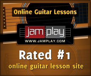 Jamplay Guitar Lessons Banner