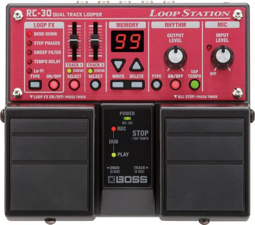 BOSS RC-30 Phrase Looper Pedal