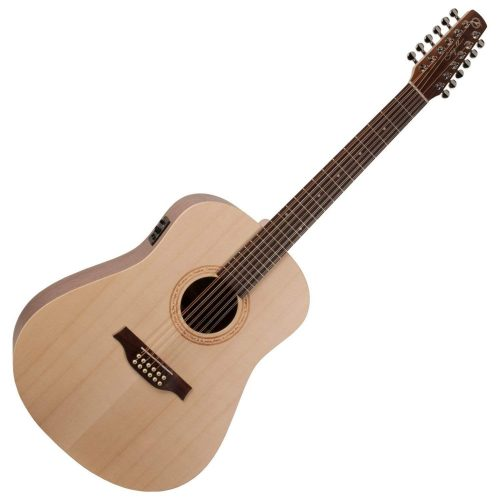 Seagull Excursion Walnut 12-string Acoustic Electric Guitar 2
