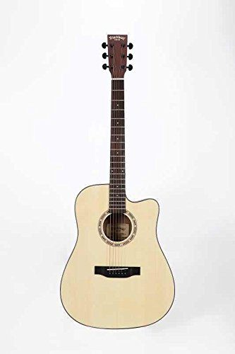 Black Wolf Beginners Acoustic Guitar